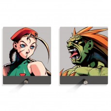 Porta Chaves Cammy vs Blanka